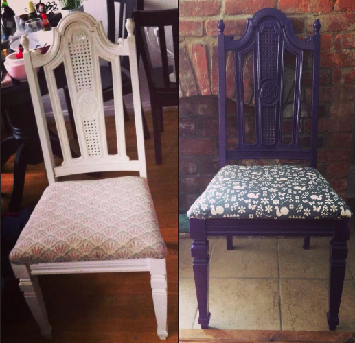 Before and After: New Life for a Vintage Chair Here's how to take a timeless perch from rags to royalty. #diy #refurbish