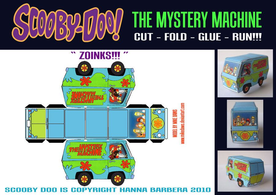 The Mystery Machine By Mikedawsdeviantartcom On