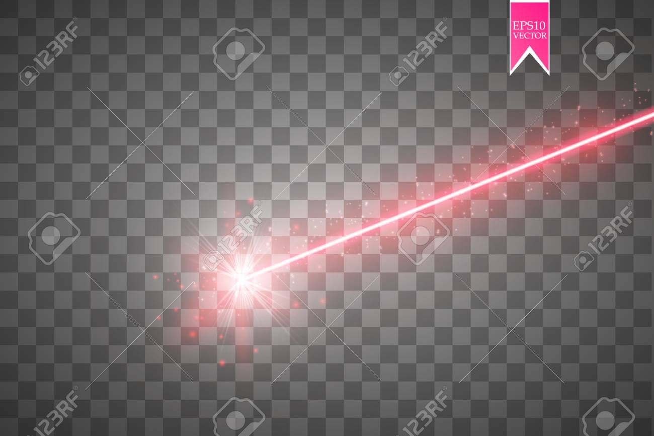 Abstract Red Laser Beam Isolated On Transparent Black Background Ad Laser Beam Abstract Red Black Beams Black Backgrounds Design