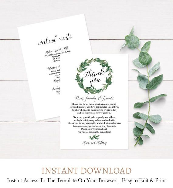 wedding welcome letter wedding itinerary card wedding schedule of