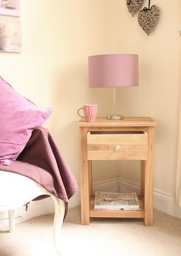 this mobel oak one drawer lamp table is a part of mobel and a great lamp