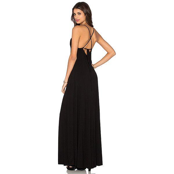 Low cut back maxi dress