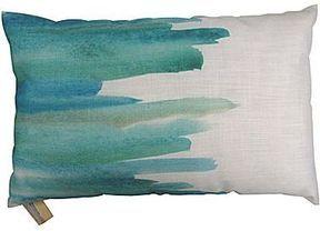 Jcp Hometm Watercolor Crescendo Blue Decorative Pillow On