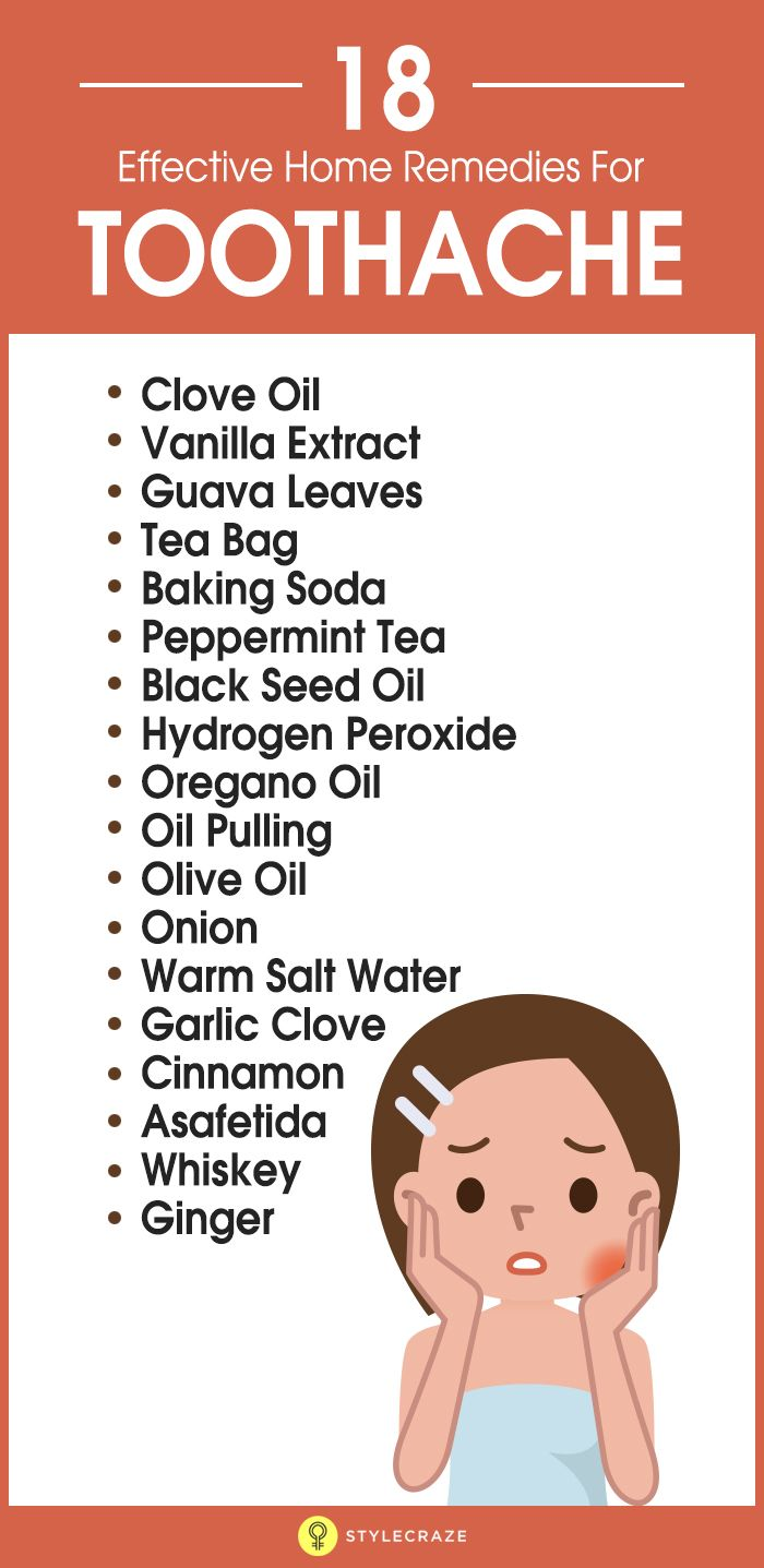 18 Effective Home Remedies For Toothache pictures