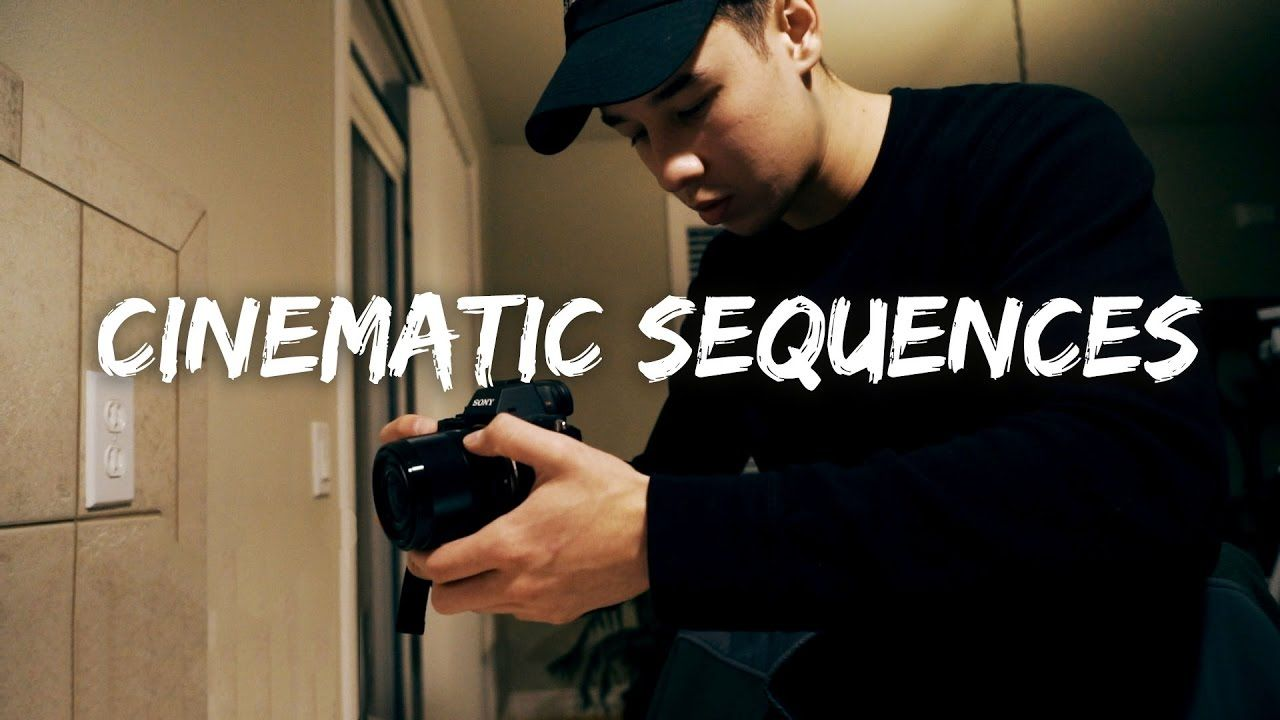 HOW TO FILM A CINEMATIC SEQUENCE YouTube Fotografia