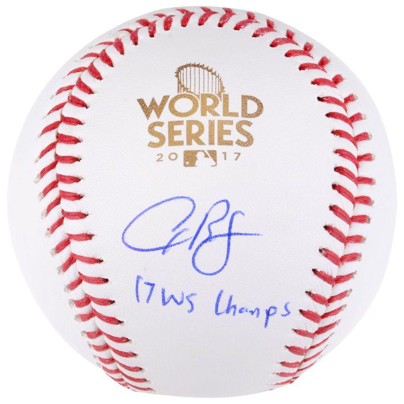 Alex Bregman Houston Astros Fanatics Authentic 2017 MLB