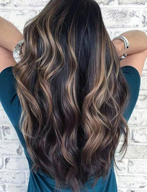 Difference Between Highlights And Lowlights Hair Styles Balayage Brunette Hair Beauty