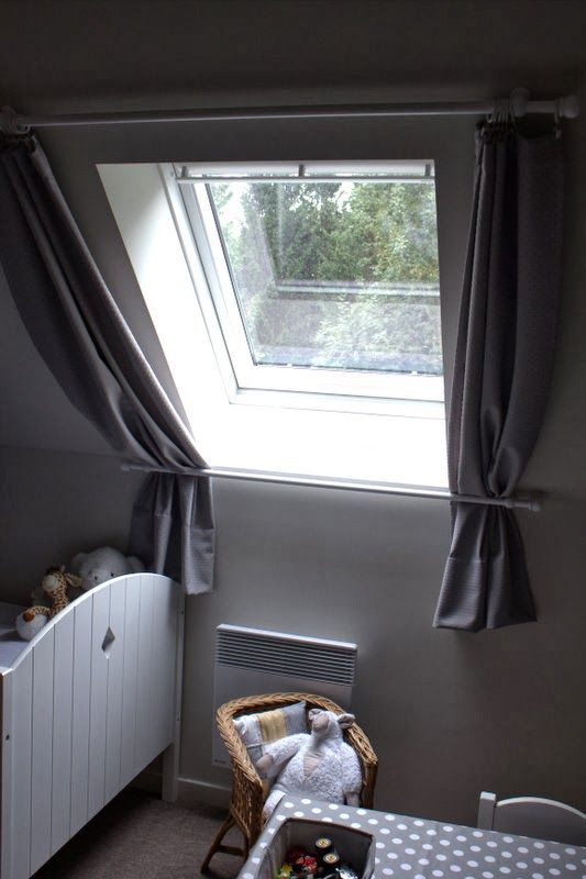 schr ge gardinen ikeaideen pinterest dachfenster gardinen und fenster. Black Bedroom Furniture Sets. Home Design Ideas
