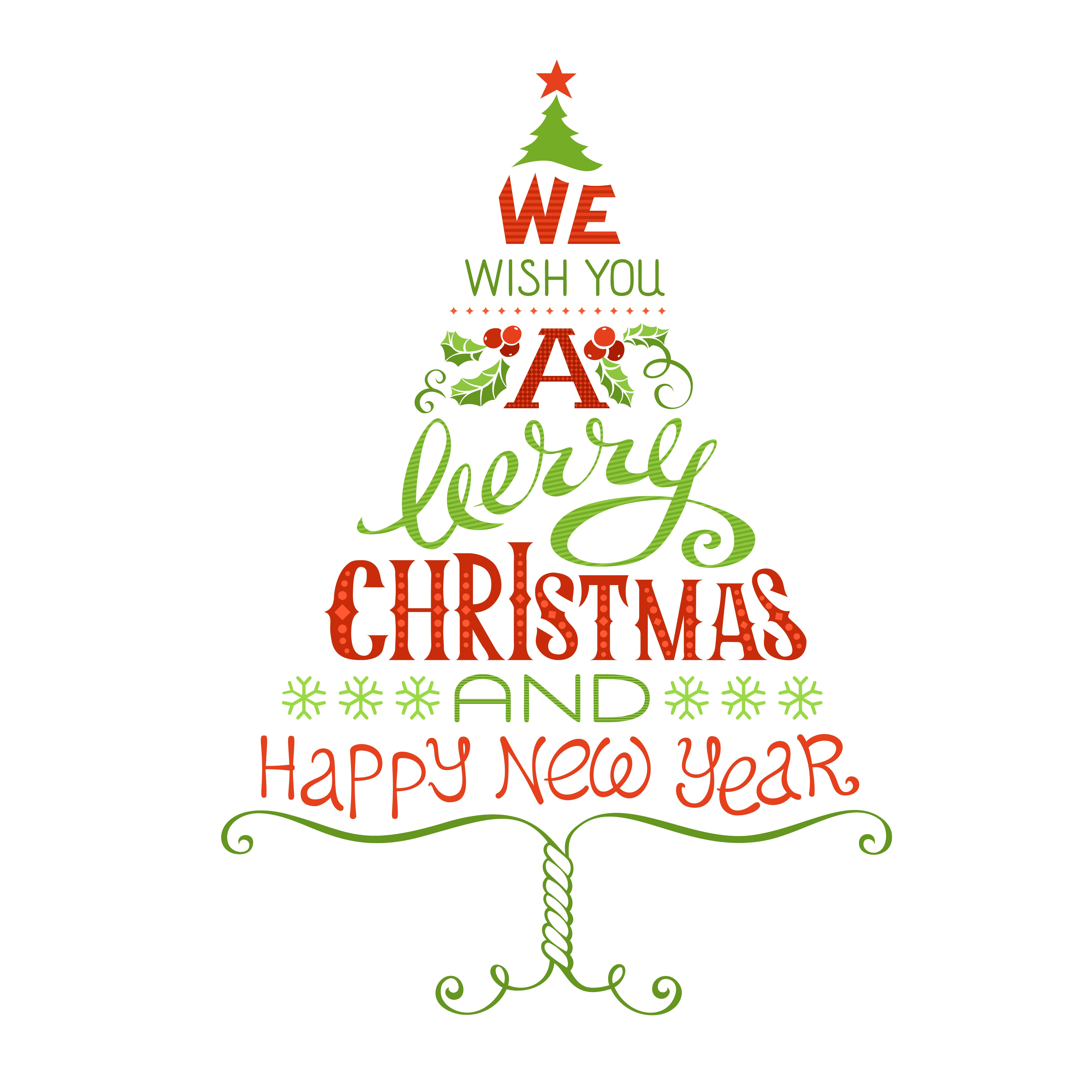Merry Christmas And Happy New Year Merry Christmas Wishes Merry Christmas Everyone Cross Stitch Tree