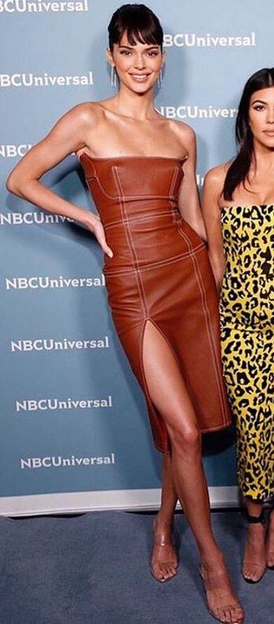 Bella Hadid Orange One Shoulder Celebrity Dress Vogue Party