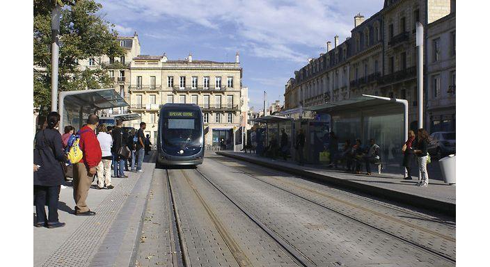 Bordeaux Lrt Lines A B C Societe D Ingenierie Leader Du