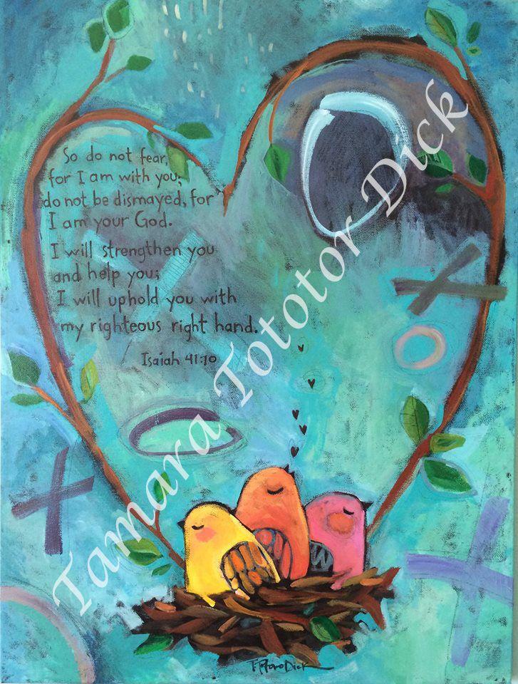 Hand painted by Tamara Totoro Dick