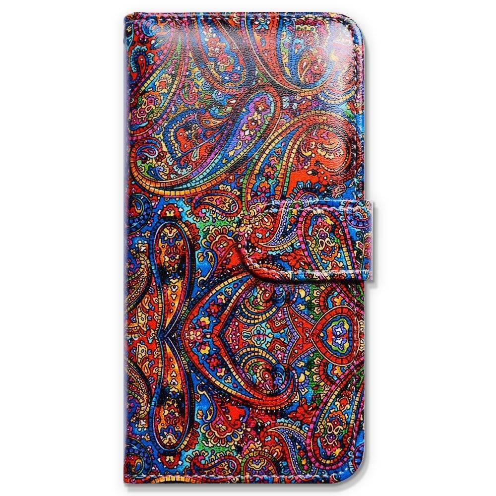 Bfun packing bcov bright paisley pattern wallet leather