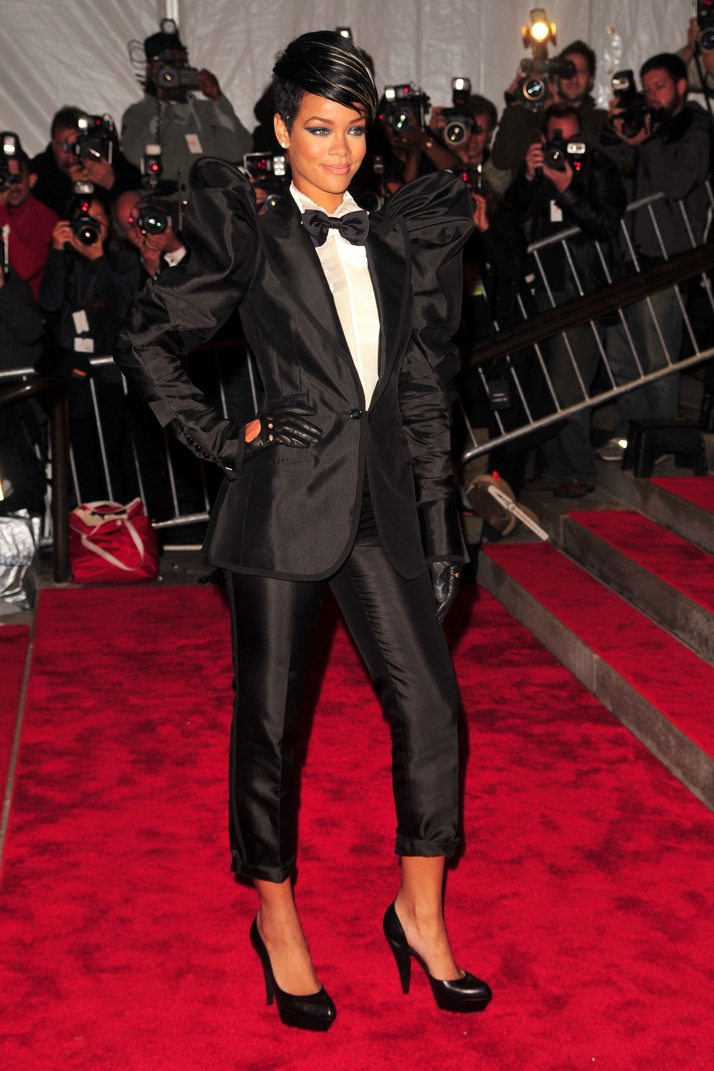 Rihanna at the Met Gala: See All Of Her Red Carpet Looks ...