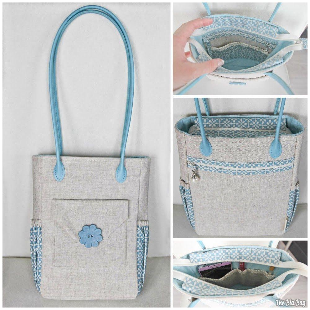 FREE Handbag Sewing ePattern! The Bia Bag - by a fabulous Maria ...