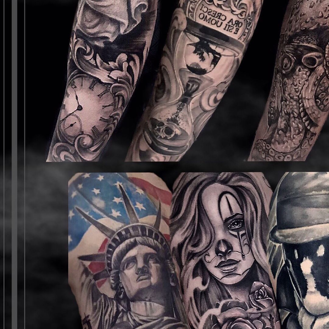 Photo 6/9 • •  @kwadron @balmtattooitalia  #mexicanskull #mexicanstyle_tattoos #mexicanstyle_art #tatts #inked #chicanotattoo #chicanostyle #tattooart #tatuaggiochicano #skulltattoo #realistictattoo #blackandgrey #blackandgreytattoo #payasa #tattoo #blackworktattoo #realisticink #tattooportrait #italiantattooartist #tatted #tattedup #losangeles #newyork #coverup #tattooing #payasatattoo #torino #newyork