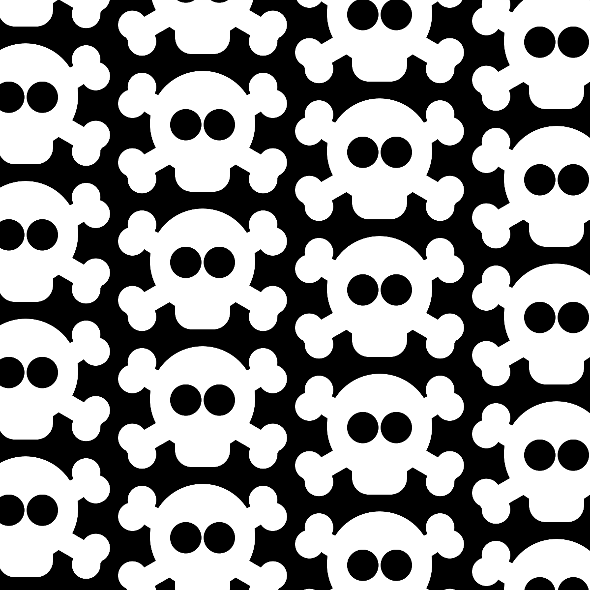 Pirate Skull And Bones Pattern Pirate Digital Paper With Skulls And Crossbones In White And Black A Paper Craft Projects Digital Paper Pirate Birthday Party