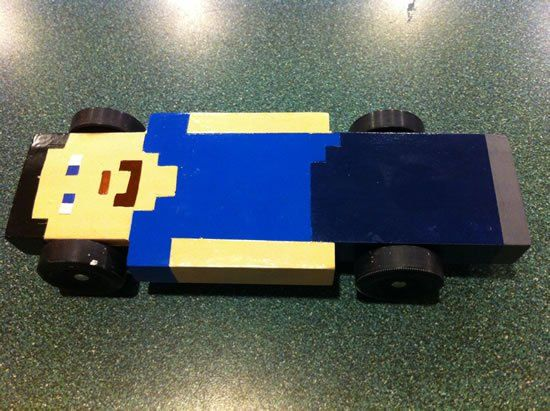 Pinewood Derby Car Minecraft Minecraft Community Derby