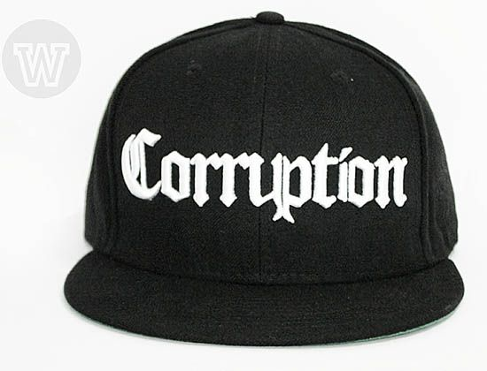 Corruption Bambu Snapback Cap by WIP CAPS  831b5f1a49d6