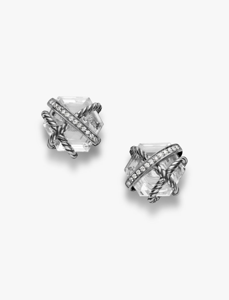 In The Cable Wrap Collection David Yurman Sets Gemstones A Daring Way Wring Them With Strands Of And Diamonds