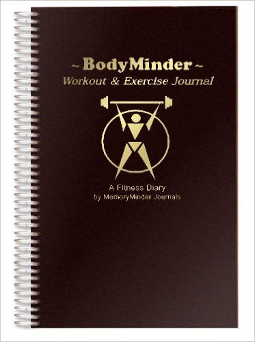 bookfactory fitness journal workout journal exercise journal