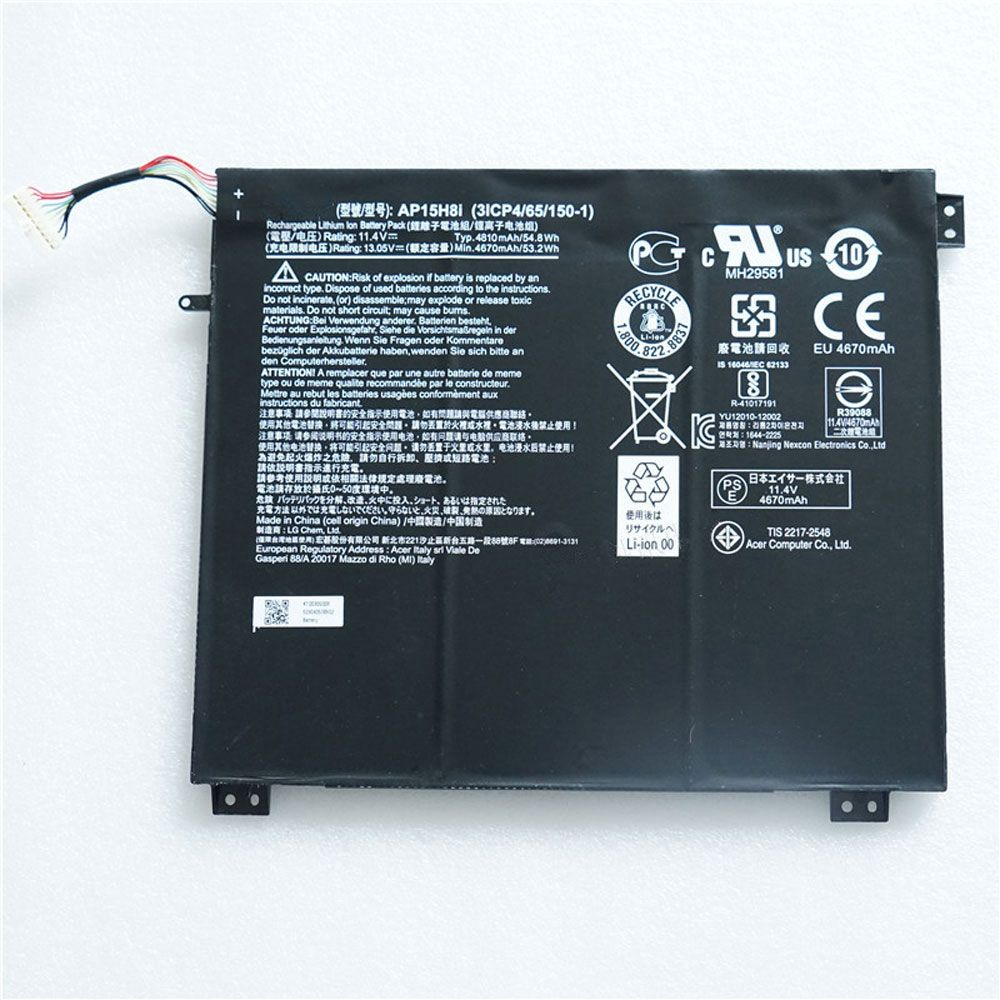 Cheap Acer Ap15h8i Li Ion Cell Phone Battery Brand New Ap15h8i Replacement Battery For Acer Aspire One Cloudbook 14 Ao1 431 C8g8 Sp Acer Aspire One Acer Aspire Acer