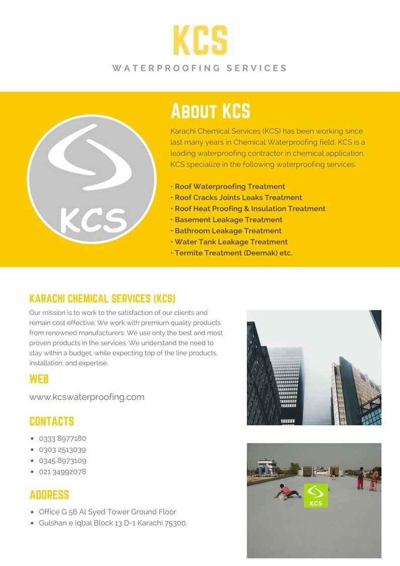 Roof Waterproofing Treatment Karachi   KCS Waterproofing