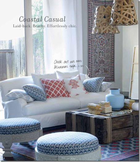 Coastal Casual Living Room By Serena Lily Design Home Furniture Impressive Casual Decorating Ideas Living Rooms