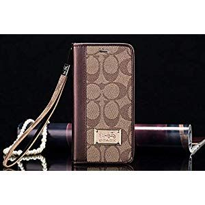 iPhone 11 Pro Wallet Case  Luxury Elegant PU Leather Classic Flip Case Full Protective Wristlet Strap Designed Compatible with Apple iPhone 11 ProBrown PhonesCommunicatio...