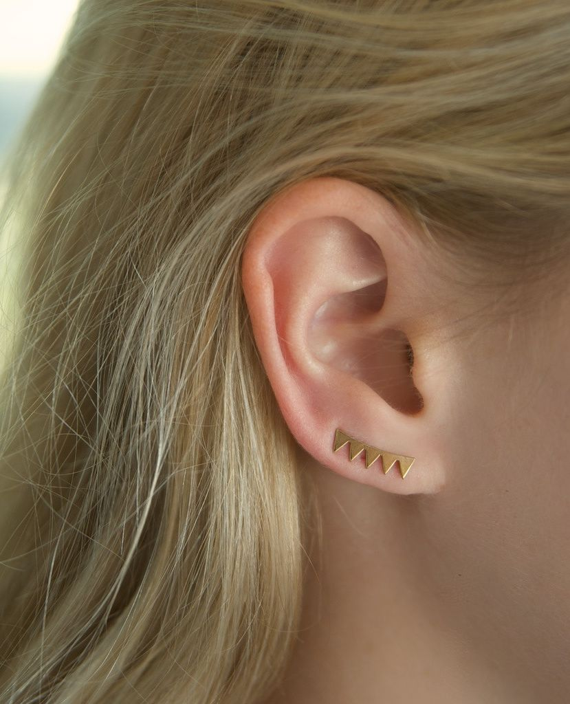 Yellow nose piercing  Beyond The Cuff Cool Earrings For   Jewel Piercings and Bling