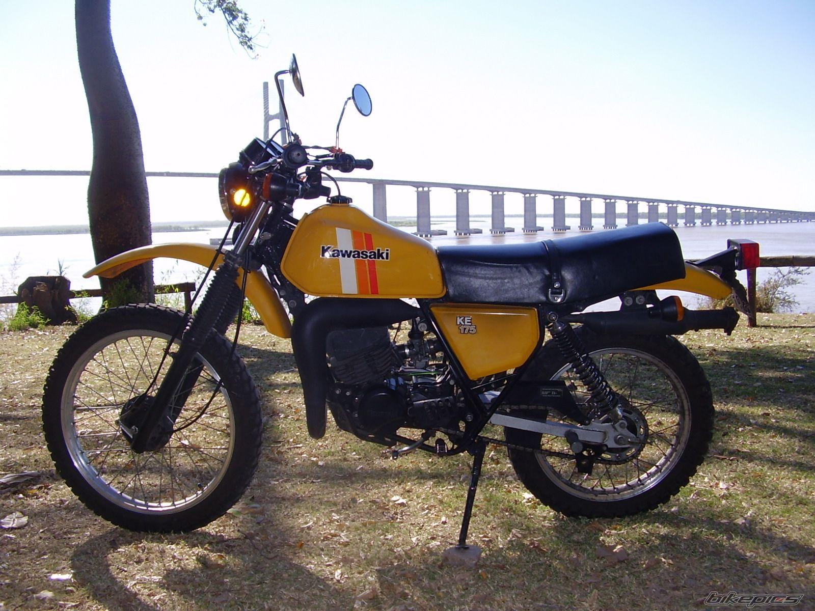 Kawasaki Ke 175 1985 2 Tiempos Mi Tercera Moto Motos Clasicas Motos Vehiculos