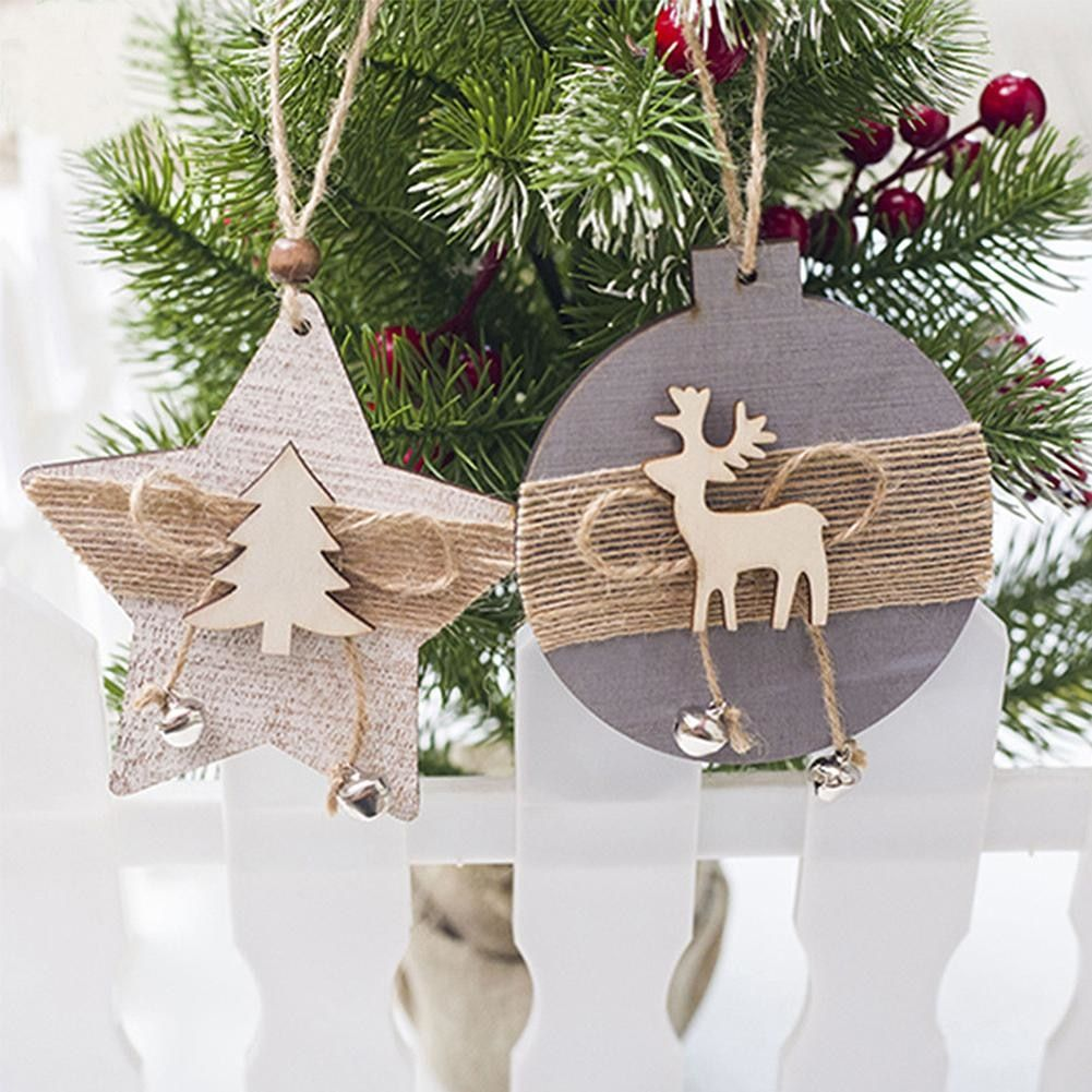 Cheap Pendant Drop Ornaments Buy Directly From China Suppliers 2pcs Pack In 2020 Wooden Christmas Decorations Christmas Ornaments Vintage Christmas Decorations Diy