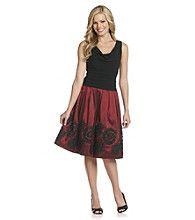 Product: S.L. Fashions Drapeneck Party Dress