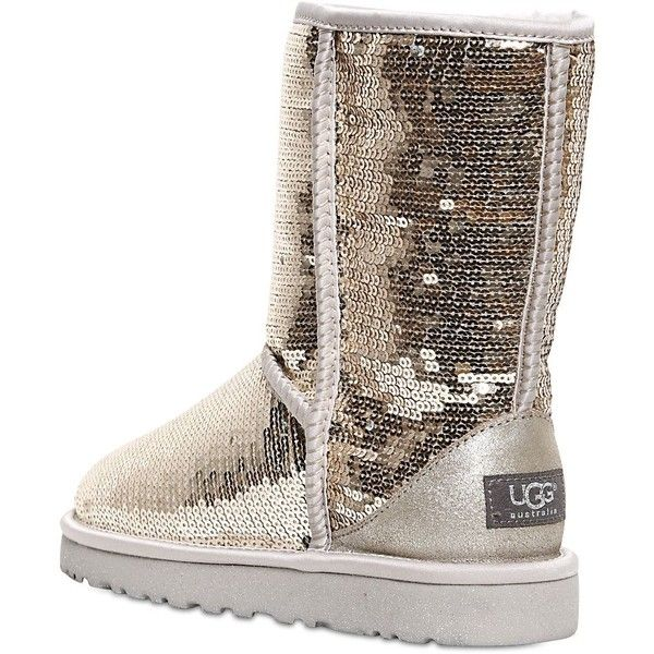 UGG Australia Shearling-Lined Sequin Ankle Boots low price fee shipping discount with credit card online cheap authentic clearance marketable cheap enjoy p51hqHaq