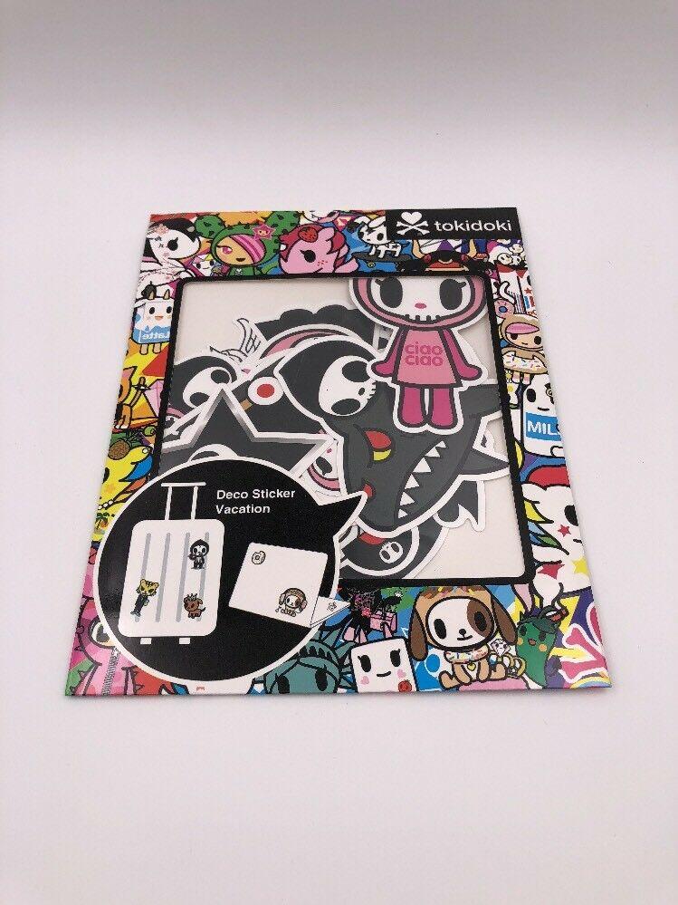 H7 Tokidoki Deco Sticker Vacation: Luggage Stickers: Adios Etc. Ciao Ciao