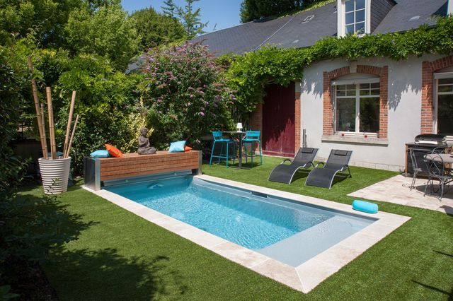 Piscine 12 mod les tendance piscine priv e margelle for Piscine tendance