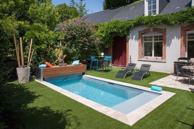 piscine 12 mod les tendance piscines pinterest piscine priv e margelle et gazon synth tique. Black Bedroom Furniture Sets. Home Design Ideas