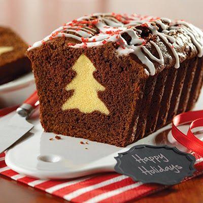 Festive Chocolate Surprise Loaf