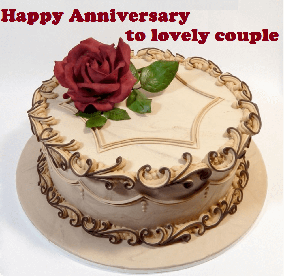 Pleasant Wedding Anniversary Cake Images Free Download Cake Decorating Funny Birthday Cards Online Elaedamsfinfo
