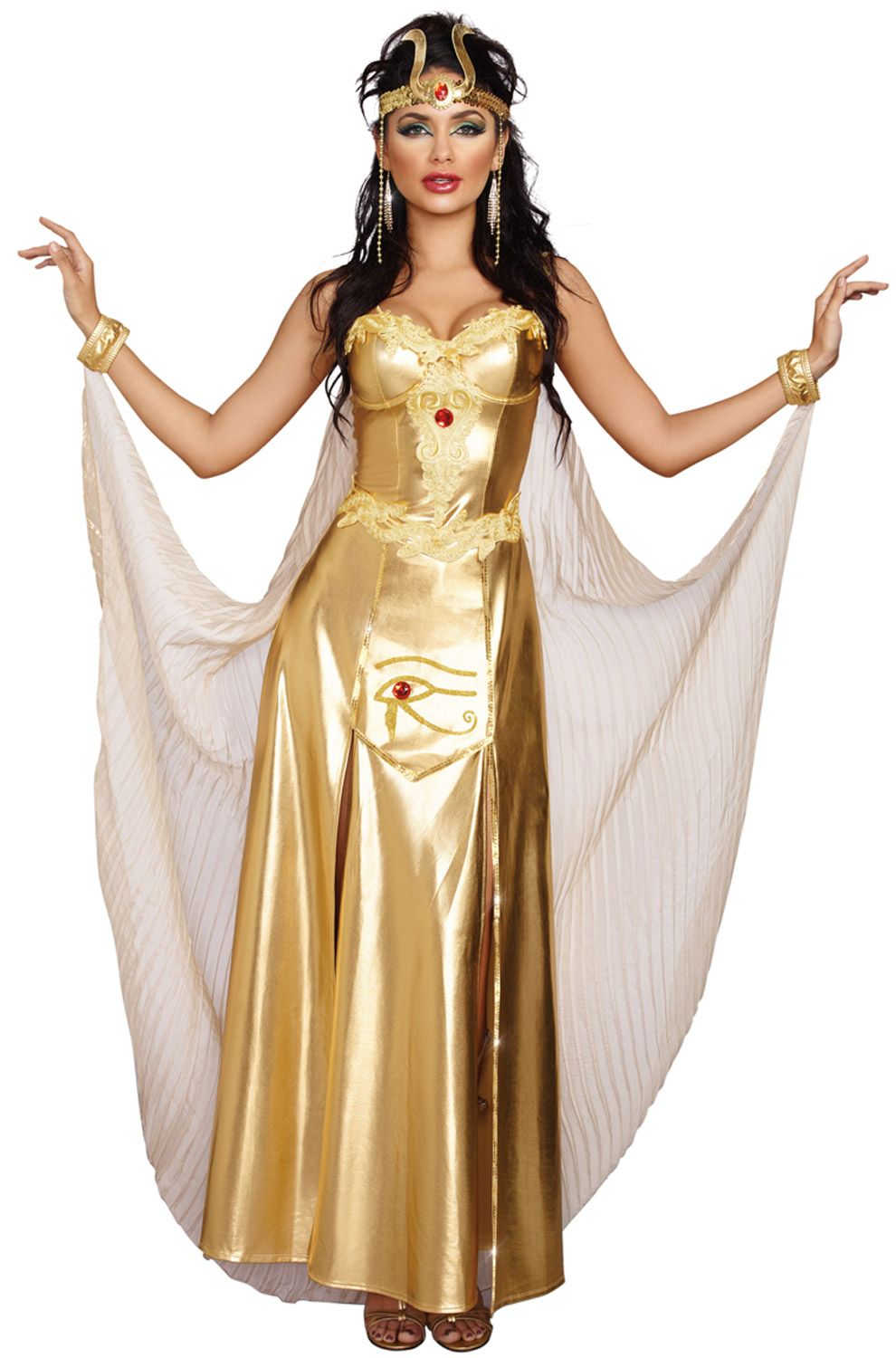 62215a5ae343 Goddess Of Egypt Adult Costume #cleopatra #Halloween #costumes | All ...