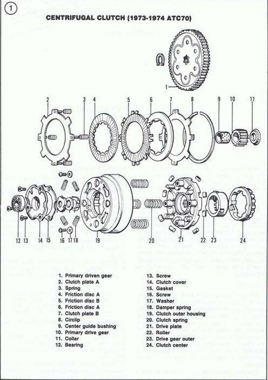 harley davidson sprint 350 engine diagram