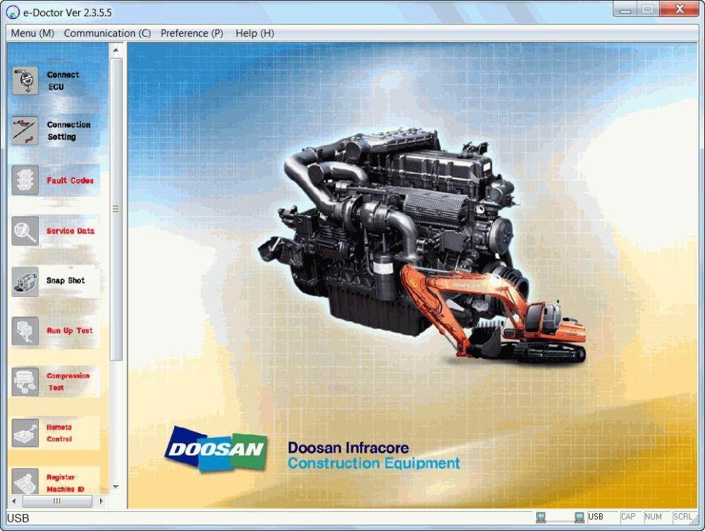 Doosan eDoctor Engine Diagnostic 2 3 5 6 (EDIA) #Affiliate   Tools