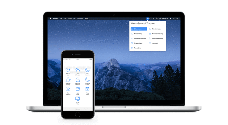Later is a simpler replacement for Apple's reminders