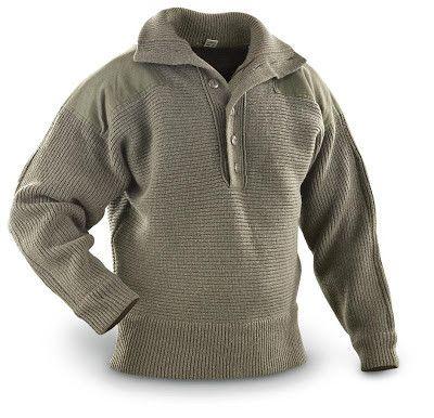 Dachstein Woolwear Military Wool Pullover 1410 | Men sweater