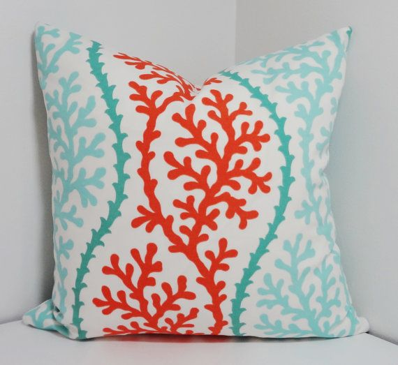 coastal the hiding outdoor products in seabyday pillow burned coral indoor sm collections