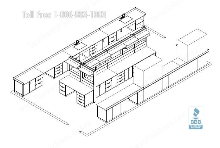 Line Drawing Rules Chemistry : Chemical lab d view fp g