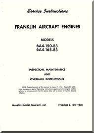 Franklin 6a4 150 b3 6a4 165 b3 aircraft engine service franklin 6a4 150 b3 6a4 165 b3 aircraft engine service instruction sciox Images