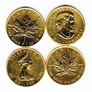 Limited Supply of Discounted Gold Maple Coins at just $17.50 + spot: http://qualitysilverbullion.com/impaired-cheap-gold-maple-coins