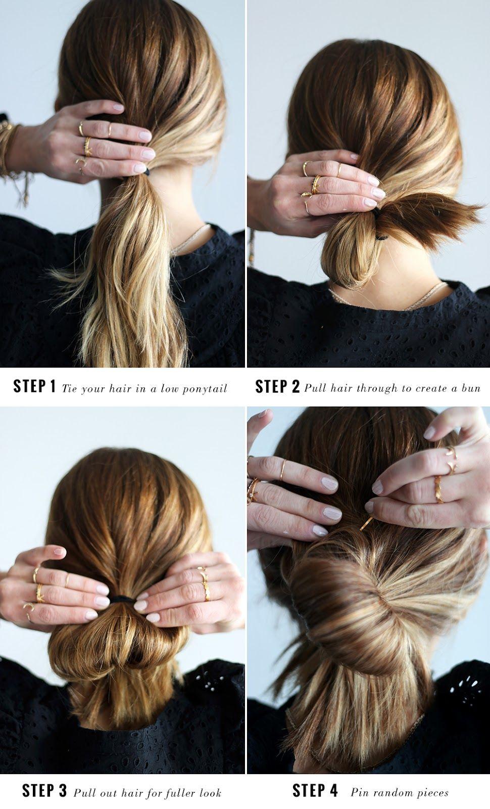 Diy File Easy Messy Bun Tutorial The Vault Files Bun Tutorial Messy Hairstyles Messy Bun Hairstyles