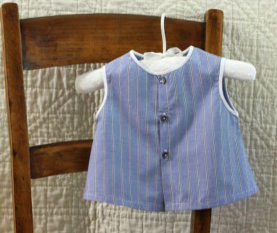 striped diaper shirt